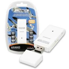 AXAGO externí HANDY čtečka 4-slot SD/TF/MS/M2