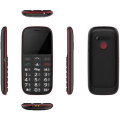 CUBE 1 F100 Dual SIM/červený