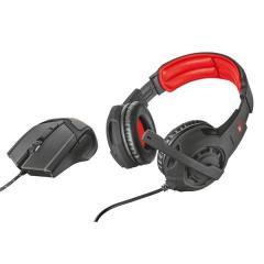 Herní set Trust GXT 784 headset + myš