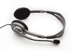 LOGITECH sluchátka, náhlavní sada Stereo Headset H110