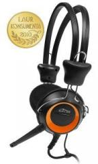 Media-Tech stereo sluchátka s mikrofonem