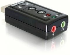 DeLock USB audio adaptér 7.1